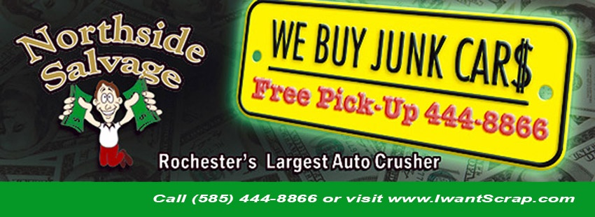 Cash For Junk Cars Online Quote Adorable Cash For Junk Cars Rochester NY 48 Locations Northside Salvage Yard